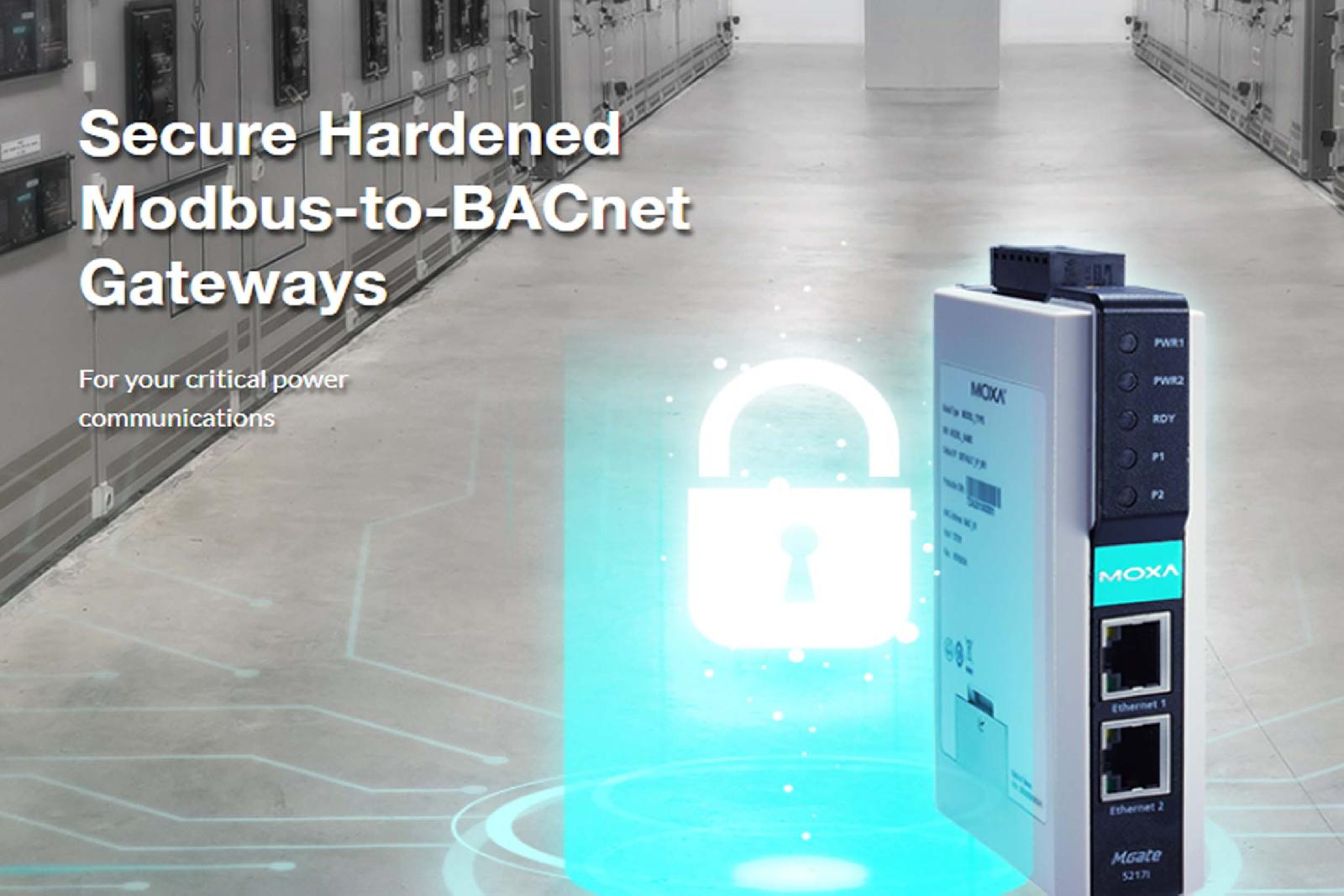 MGate 5217 Series Modbus-to-BACnet Gateways
