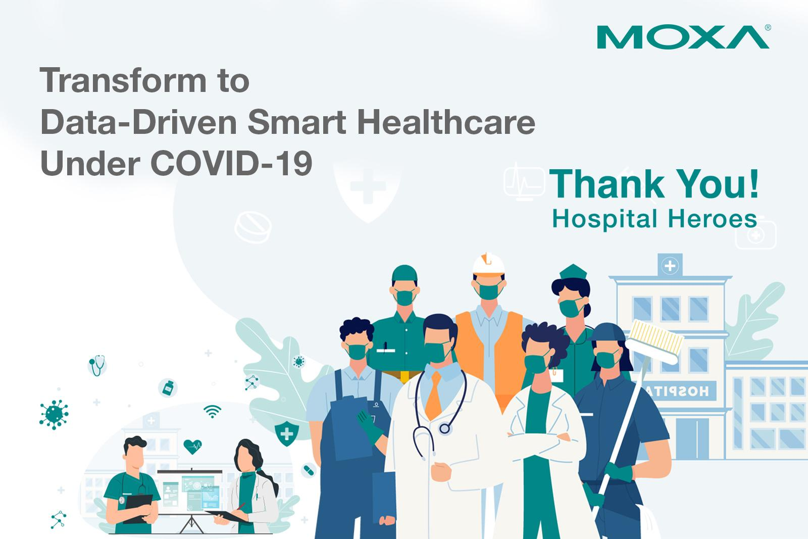 Transform to Data-Driven Smart Healthcare Under COVID-19