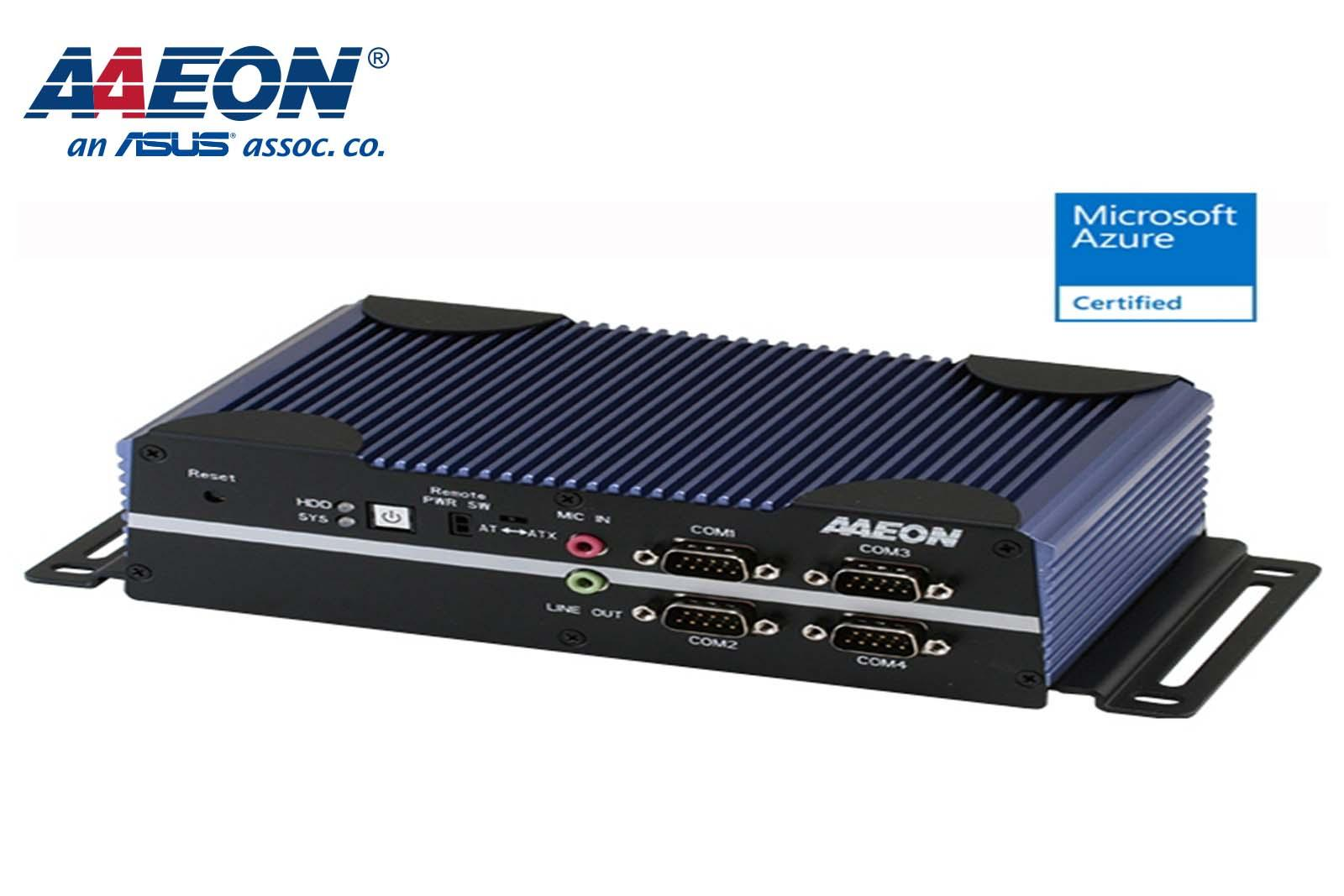 BOXER-6616 Fanless Embedded Box PC with Intel® Celeron® Processor N3350/N4200
