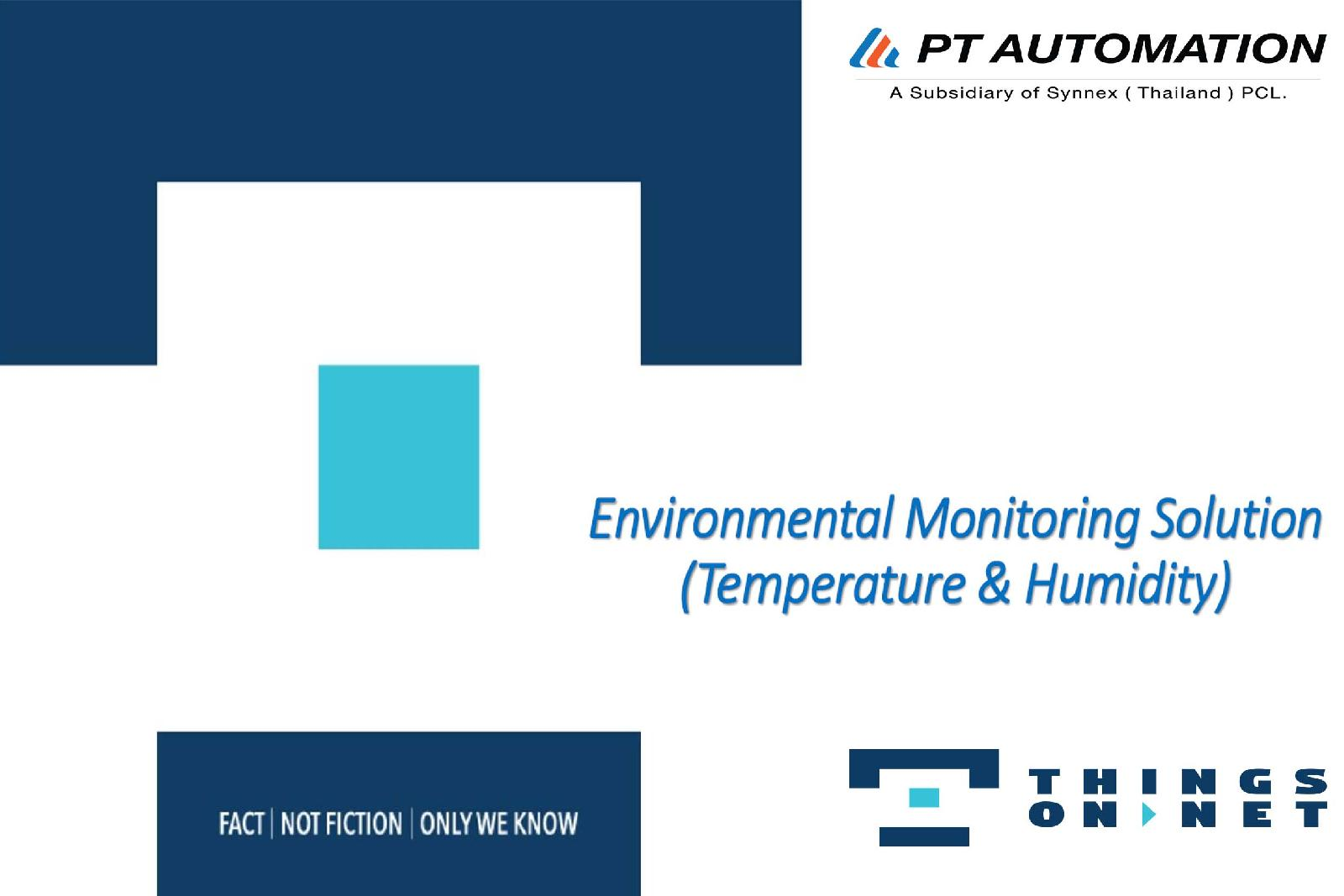 Environmental Monitoring Solution ( Temperature & Humidity )