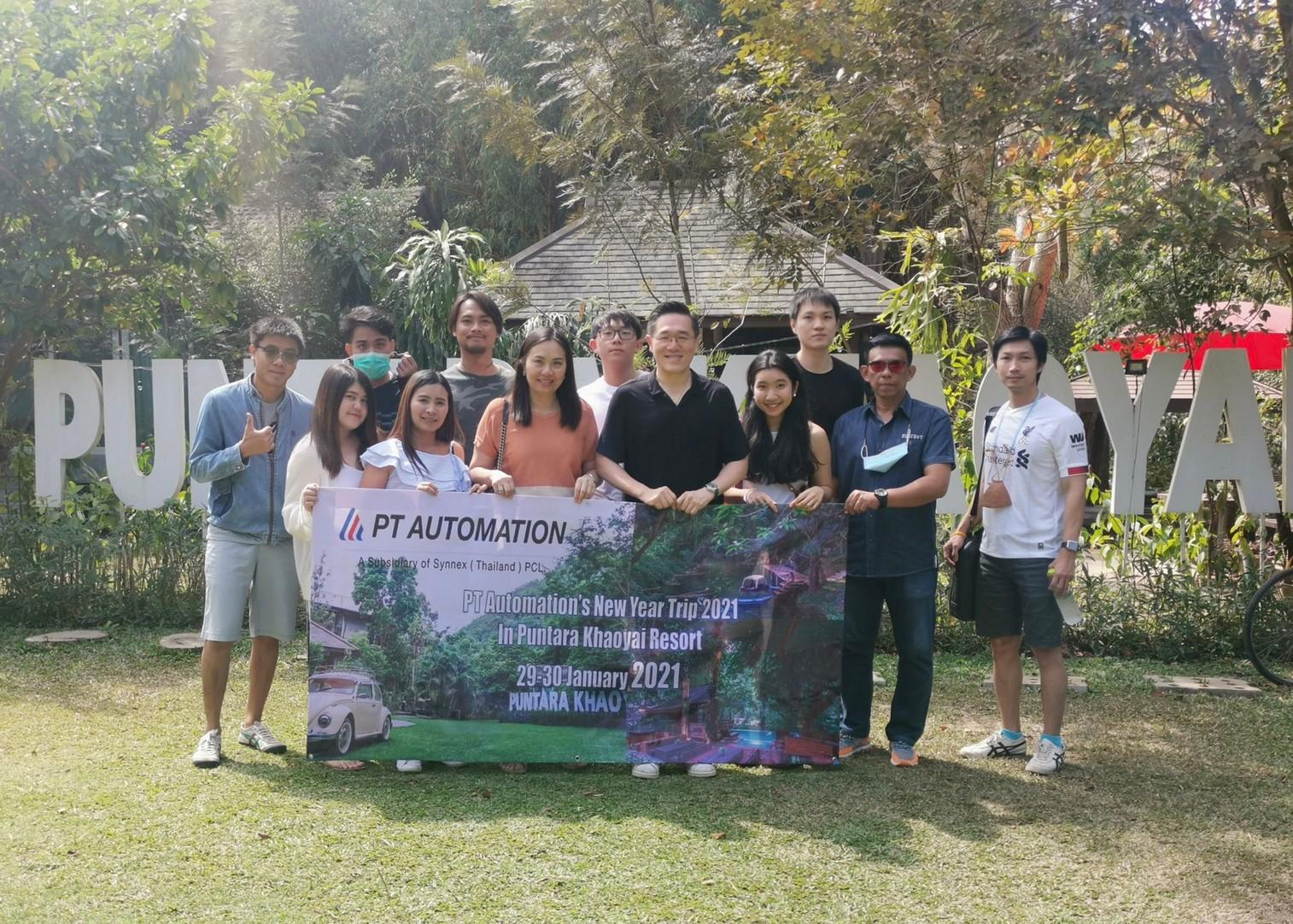 PT Automation's outing 2021 at Khaoyai